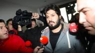 Ehrbarer Geschäftsmann oder Spion? Reza Zarrab im Jahr 2013 in Istanbul.