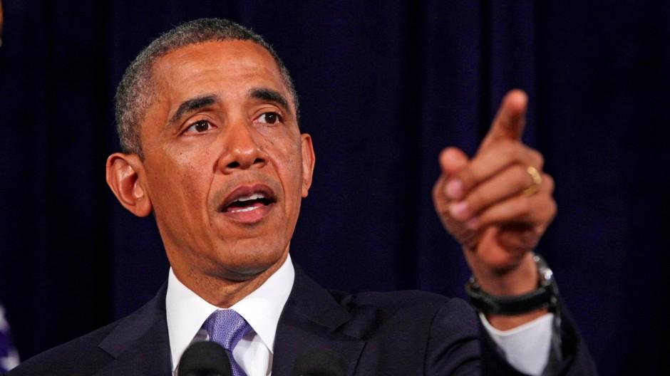 """""""Wir werden ein paar Entscheidungen treffen müssen als Gesellschaft"""": Präsident Obama an diesem Freitag"""