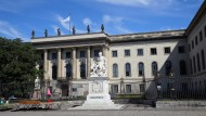 Schauplatz einer Debatte, die aus den Fugen geraten ist: Die Humboldt-Universität zu Berlin