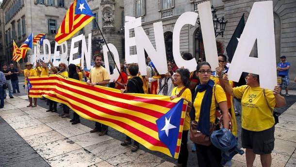 Die Katalanen wollen gefragt werden
