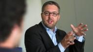 """""""Wir stecken schon zu tief drin"""": Markus Morgenroth im Gespräch mit den F.A.Z.-Hospitanten"""