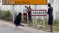Calais ist das Nadelöhr, durch das Flüchtende die britische Insel erreichen wollen.