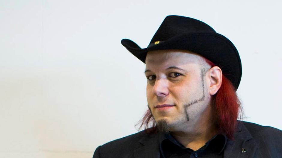 Das Thema Urheberrecht hat ihn zur Piratenpartei geführt: der Musiker und Produzent Bruno Kramm