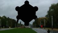 Ein schwarzer Fleck anstelle des belgischen Atomiums: Nach einer Einschränkung der Panoramafreiheit könnten viele Bilder im Internet so aussehen.