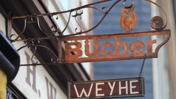 Buchhändlerin Helga Weyhe wird 90