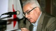 Kämpfte für die bessere Verständlichkeit der Archäologie: Khaled al-Asaad auf einem undatierten Foto.