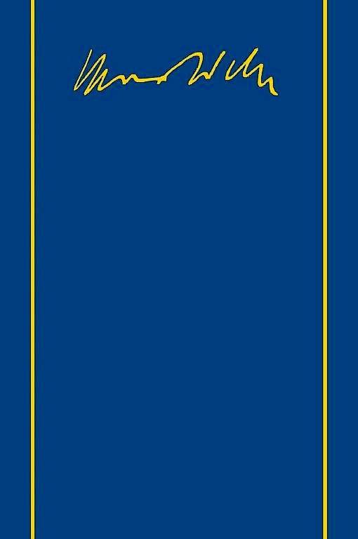 """Max Weber: """"Gesamtausgabe, Band I/13"""". Hochschulwesen und Wissenschaftspolitik. Schriften und Reden 1895-1920. Mohr Siebeck Verlag, Tübingen 2016. 971 S., geb., 399,- €"""