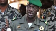 Hauptmann Amadou Haya Sanogo putschte sich März 2012 in Mali an die Macht.