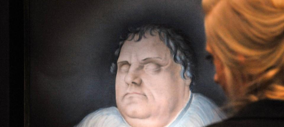 Martin Luther Die Leibesfülle Des Feisten Doktors