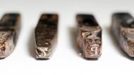Ge'ez-Bleilettern des äthiopischen Alphabets aus dem Nachlass von Hiob Ludolf in der Universitätsbibliothek Frankfurt.