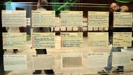 Zettel aus den Kästen des Philosophen Hans Blumenberg