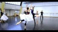 Polina Semionova trainiert für die Rolle der Giselle