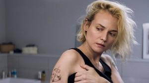 Das Bild einer gebrochenen Frau