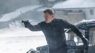 """Ein Mann geht seinen Weg: Daniel Craig in einer Szene des neuen James-Bond-Films """"Spectre""""."""