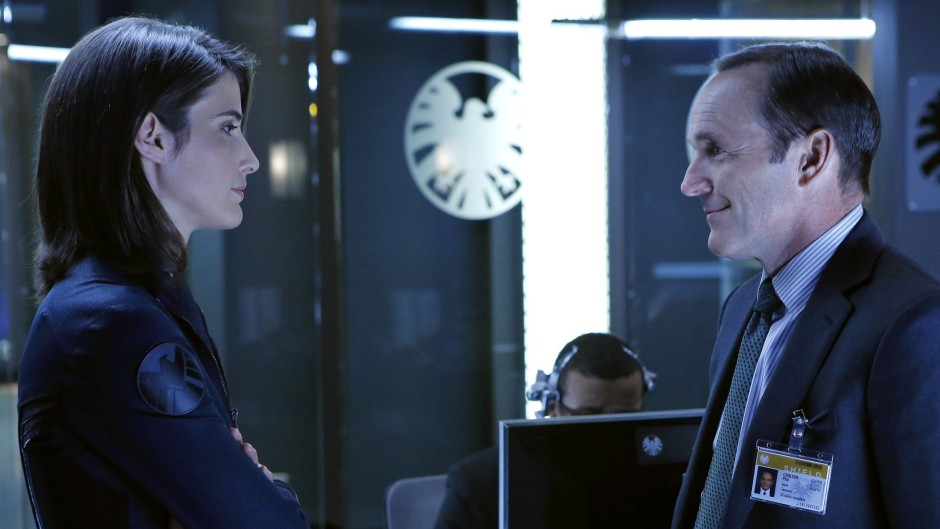 "Cobie Smulders und Clark Gregg in Whedons ""Agents of S.H.I.E.L.D."""