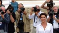 Kriegt am Lido schon mal kalte Füße: Die italienische Schauspielerin Luisa Ranieri wird an diesem Mittwoch Abend die Eröffnung der Filmfestspiele moderieren