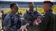 Nato-Verbündete proben für den Ernstfall