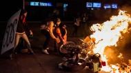 Gewaltsame Zusammenstöße in Caracas