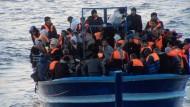 Mehr als 500 Flüchtlinge vor Lampedusa gerettet