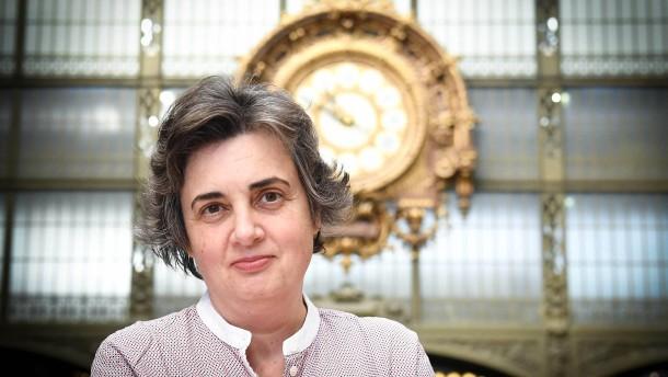 Die erste Frau an der Spitze des Louvre