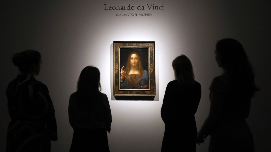 """Salvator Mundi"" von Leonardo da Vinci"