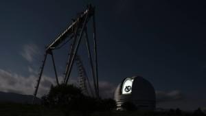 Zottelstern am Optikturm