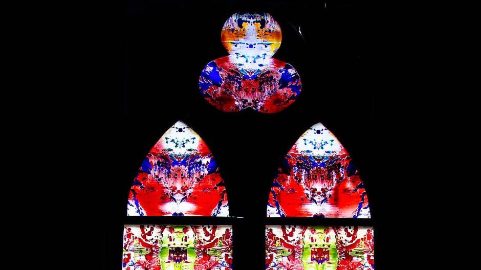 Seelenfenster: Der erste der drei Richters ist in der Abtei Tholey bereits eingebaut.
