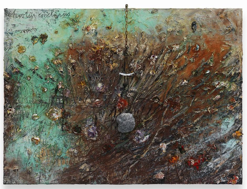 """Geschlossenes Paradies mit Abrißbirne: Anselm Kiefers """"Hortus Conclusus"""", 2014."""