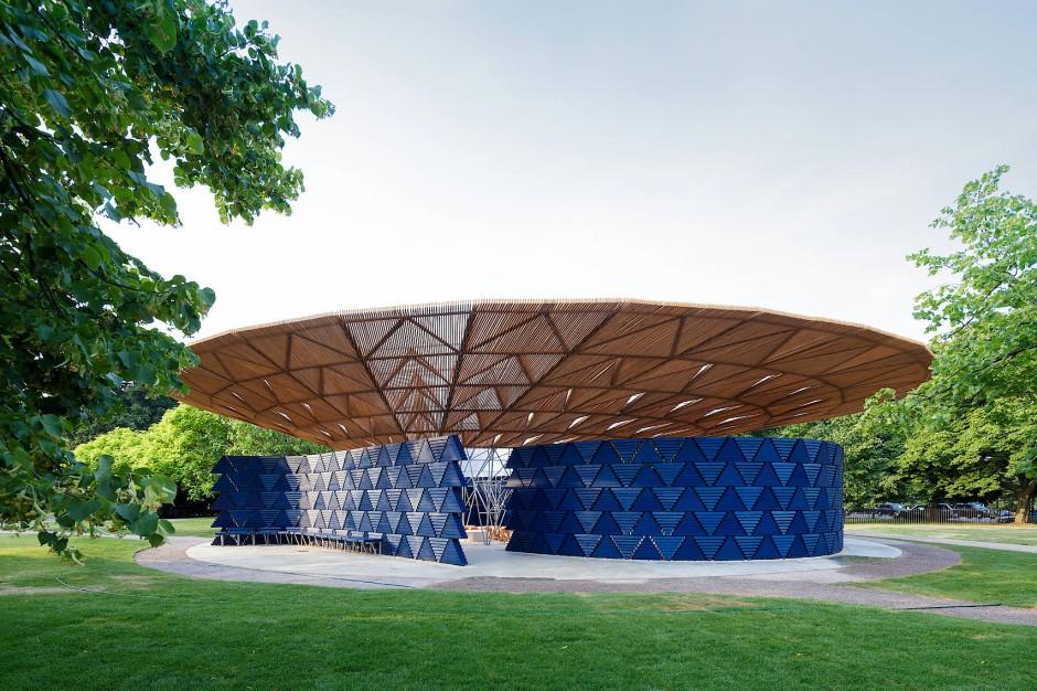 Der Pavillon soll als Schutzraum, aber auch als Treffpunkt fungieren.
