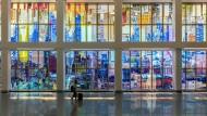Manhattans Silhouette in Glas: Metropolis der Zeitmaschinen