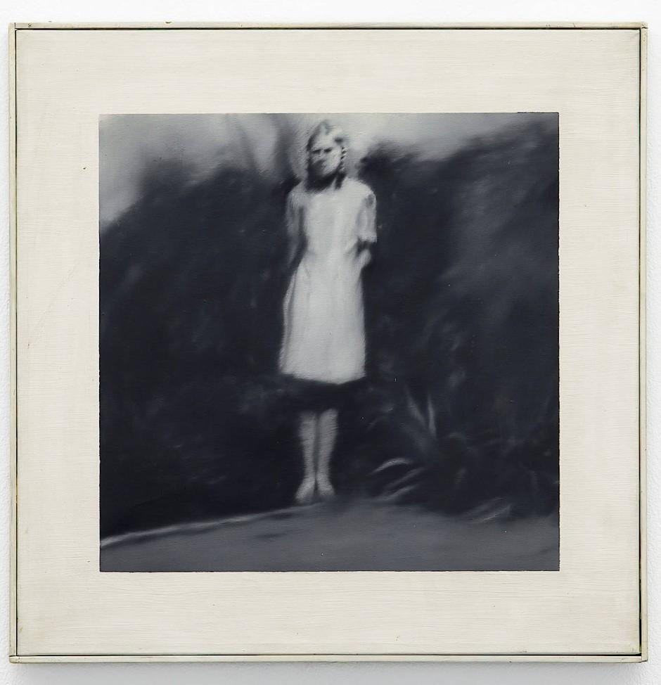 Gerhard Richter, Mädchen im Garten, 1965