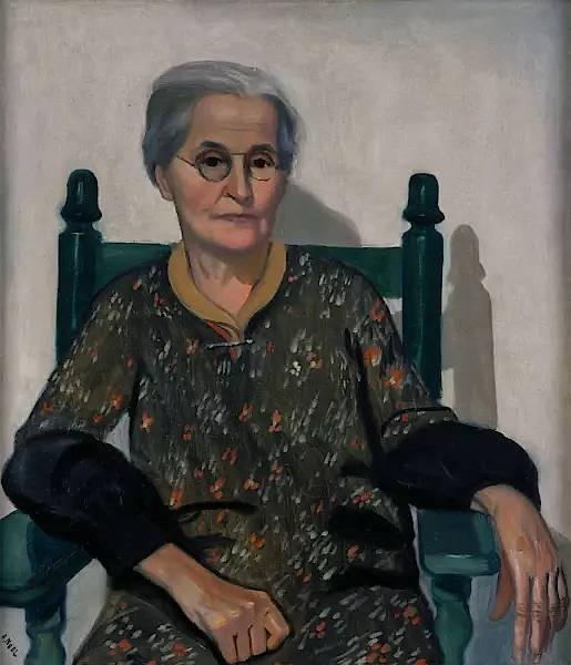 "Alice Neel, ""My Mother"", 1930, Öl auf Leinwand, 76 mal 66 Zentimeter bei Victoria Miro."