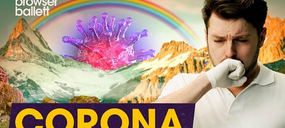 Das ist wirklich zum Husten: Schlecky Silberstein und das Bohemian Browser Ballett haben zur Corona-Pandemie etwas zu sagen.