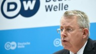 Der Intendant der Deutschen Welle, Peter Limbourg