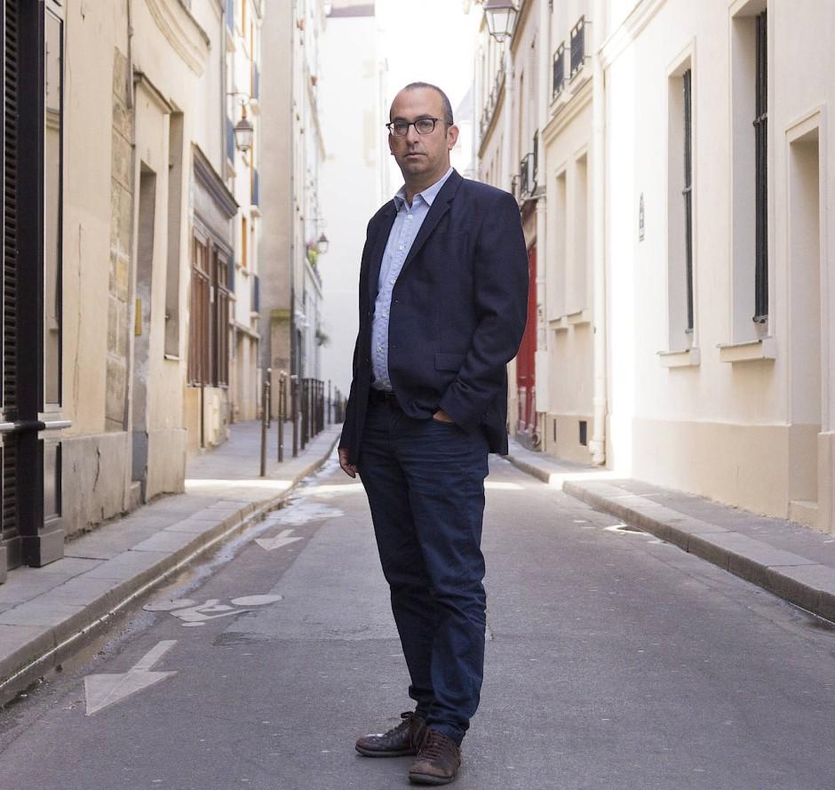 Der israelische Schriftsteller Yishai Sarid