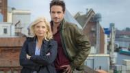 """Vierzig Dienstjahre und plötzlich ist Schluss, einfach so: Sabine Postel und Oliver Mommsen verlassen den Bremer """"Tatort""""."""