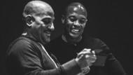 Rap trifft Regie: Dr. Dre (rechts) mit dem Regisseur Allen Hughes.