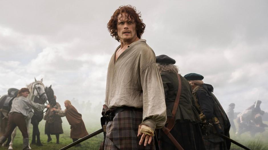 Der Mann fürs Schlachtfeld, den Abwasch macht er eher nicht: Jamie Fraser (Sam Heughan).