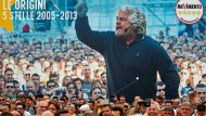 Wortführer: Beppe Grillo bei einer Kundgebung der Fünf-Sterne-Bewegung, Ende Oktober in Rom.