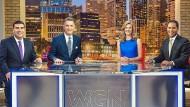 """Neu auf dem Schirm: die Moderatoren von """"News Nation"""""""
