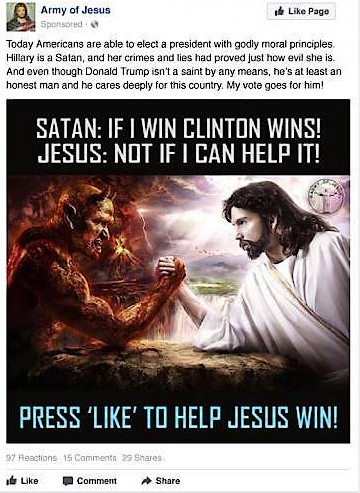 Satan gegen Jesus, Teil zwei.