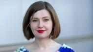 Flucht ist eine Erfahrung, die ihrer Familie vertraut ist: Olga Grjasnowa, 1984 in Baku geboren, lebt heute in Berlin.