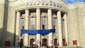 Die Berliner Volksbühne ist besetzt