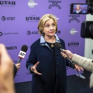 """Hillary Clinton bei der Vorstellung von """"Hillary"""" auf dem Sundance Film Festival Ende Januar."""