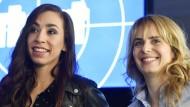 Spielen die neuen Kommissarinnen: Carol Schuler (links) und Anna Pieri Zuercher.