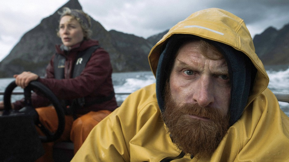 Bitte recht freundlich: Ingrid (Rebekka Nystabakk) und ihr Schwager Erik (Kristofer Hivju)