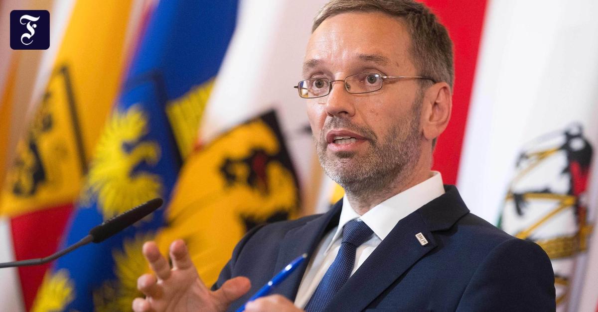 Skandal um Ibiza-Video: Kurz will FPÖ-Innenminister Kickl loswerden