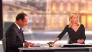 Am Tag nach Hollandes Sieg gab sie ihren Rücktritt bekannt: Moderatorin Laurence Ferrari