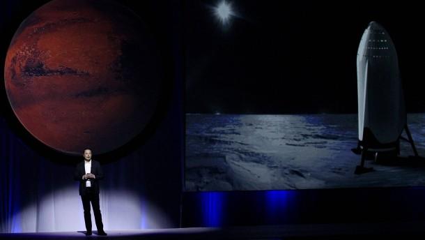 Der Mann mit der Mars-Mission