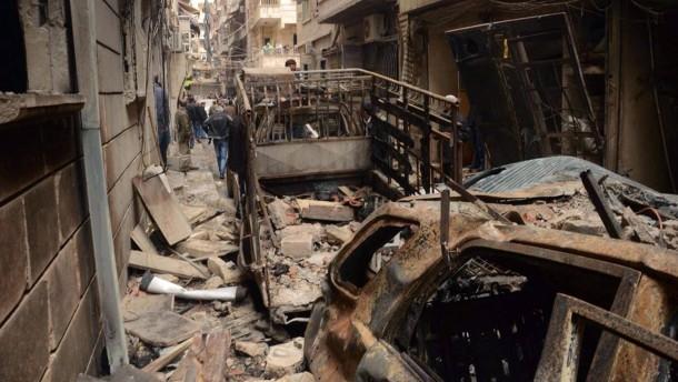 Für Aleppo sterben?